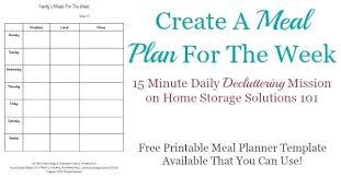 Bi Weekly Meal Planner Template Free Menu Planner Template Menu Planner Template Free Mac 1 Bi
