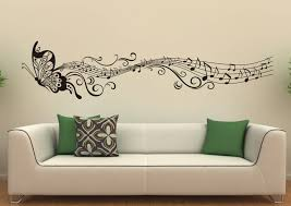 decorating ideas wall art decor: living room wall decoration ideas wonderful wall decoration black butterfly and tones wall art decoration