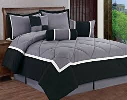 michael 7 piece luxury comforter set queen size