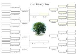 Excel Templates Family Tree Dog Family Tree Template