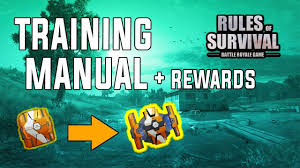training rewards rules of survival training manual how to use rewards youtube