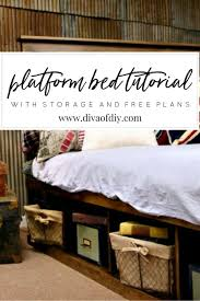 this platform bed frame is built from a series of boxes learn to build the box and you can build this bed