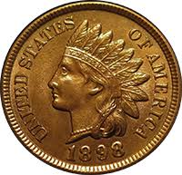 Indian Head Value Chart 1898 Indian Head Penny Value Cointrackers