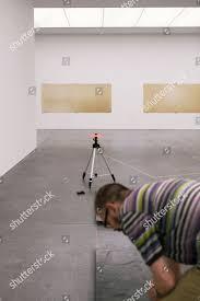 Museum Technician Installs Exhibition Hans Danuser Darkrooms