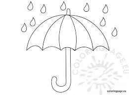 Small Picture Umbrella coloring