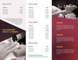 Pricing Brochure Template Brochure Design Charges Brochure Design