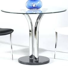 36 inch round dining table with black marble base and chrome legs 36 round glass table