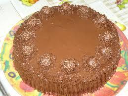 Home Made Easy Cakes Ferrero Rocher Birthday Cake