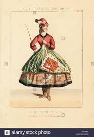 A Modern Diana, Victorian Fancy Dress Or Theatrical Costume.