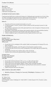 Resume Objective For Nursing Student Nurse Resume Objective Nursing