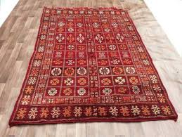 berber tribal authentic handmade moroccan zemmour rug 186cm x 309