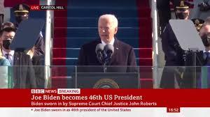 BBC News - Biden leads prayer to ...