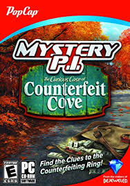 The first image shows a deck of cards containing a hidden mona lisa face, while the next asks users to uncover follow daily mail. Amazon Com Mystery P I The Curious Case Of Counterfeit Cove Video Games