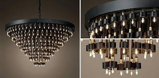 restoration hardware chandelier unique for home design ideas crystal orb