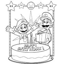 These are the cutest candles! Happy Birthday Coloring Pages Free Printables