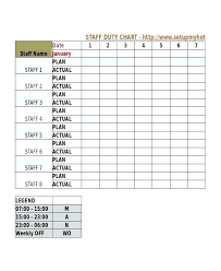 Camping Duty Roster Template Duty Roster Template 8 Free Word Excel