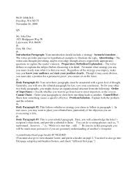 Correct Way To Write A Cover Letter Cover Letter Example