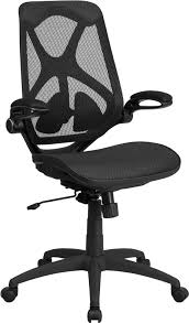 ergonomic home high back black mesh executive swivel office chair with mesh seat adjule lumbar