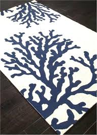 outstanding navy blue rugs architecture c branch out area rug navy blue and white beach decor
