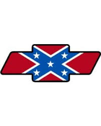 chevy logo with rebel flag. Simple Flag Dixie Flag Chevy Decal OC2010  Intended Logo With Rebel