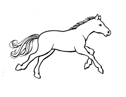 Horse Coloring Pages Pdf Clrg