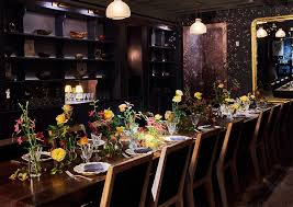 Nyc Private Dining Rooms Inspiration La Mercerie Cafe At The Roman And Williams Guild New York