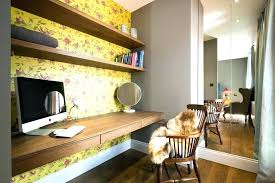 floating desk ideas floating desk ideas home office transitional with open shelves mirrored wall shelf corner floating desk ideas