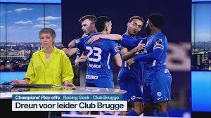 All the info, statistics, lineups and events of the match Bekijk Het Journaal 13u Met O A De Samenvatting Van Genk Club Brugge 3 0 Jupiler Pro League Sporza