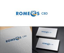 Product Design Nj Upmarket Modern Health Product Logo Design For Romeos Cbd