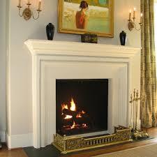 Pretty Neutral Limestone Fireplace Mantels With Captivating Modern Limestone Fireplace Mantels