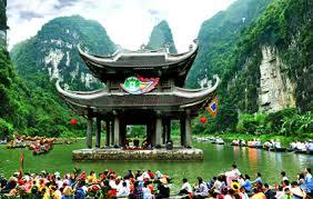 Image result for kdl tràng an – ninh bình