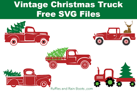 Browse 50 vector icons about christmas term. Free Christmas Truck Svg Files