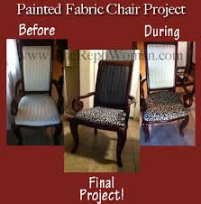 fabric paint for furnitureStep by Step Instructions How to Paint a Fabric Chair  The Repo