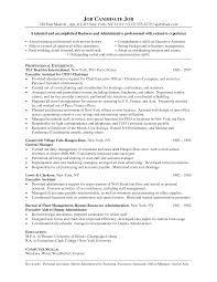 Agreeable Post Office Resume Sample For Sample Resume For Office