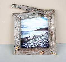 using wooden sticks you find right in your backyard morning creativity shows us how to turn them into a trendy diy photo frame
