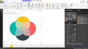 Venn Diagram Copy Power Bi Custom Visuals Venn Diagram By Maq Software Youtube
