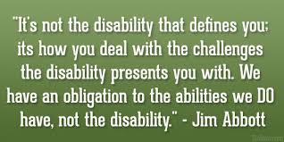 Disability Quotes Awesome 48 Top Quotes And Sayings About Disability