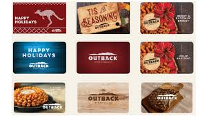 free outback 20 gift card with 50 gift card purchase