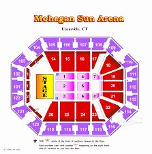 47 Interpretive Mohegan Sun Arena Seating Numbers