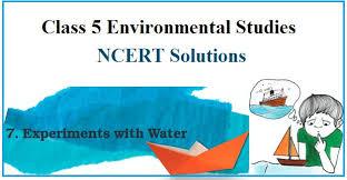 ncert solutions cl 5 evs chapter 7