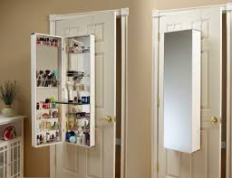How Does A Wall Mount Jewelry Armoire Work Wall Mounted Jewelry Cabinet T57
