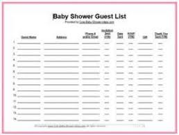 Supply List Template Interesting Pretty Shower Planning Template Inspiration Wallpapernotes In Babyst