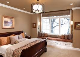 Bedroom Cream Walls On Simple Brown Bedroom Colors