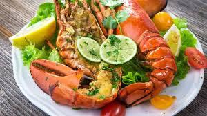 gourmet lobster dinner. Modren Lobster Lobster Dish With Lime For Gourmet Lobster Dinner N