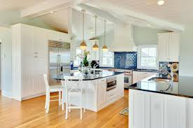 interior blue tile kitchen backsplash connected by white wooden glass green pho full size