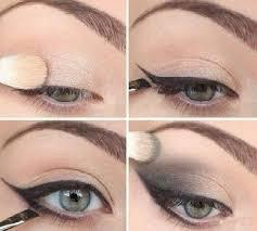 simple stylish eye make up