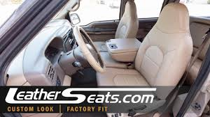 99 00 ford f 250 crew cab lariat leather upholstery kit leatherseats com