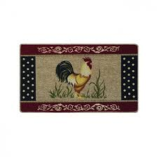 rooster kitchen mat rooster area rugs kitchen rooster rugs