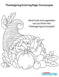 Small Picture Printable Thanksgiving Coloring Pages Pdf Thanksgiving coloring