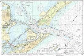 Noaa Chart 11416 Noaa Chart Galveston Bay Entrance Galveston And Texas City